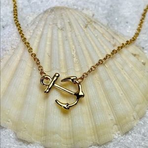 NWOT Good Anchor Necklace  *Sale - Jewelry 3/$15*